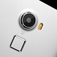 Fingerprint scanner on the Doogee F5 can take you to multiple locations