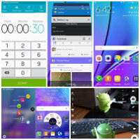 Note5 TouchWiz vs Note 4 TouchWiz UI comparison: what changed with Samsung's skin?