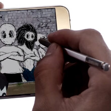Check out the first Galaxy Note5 ad, touting the new auto-eject S Pen