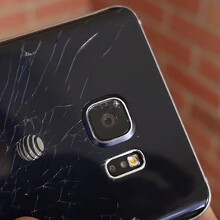 The first Galaxy Note5 drop test tells the tale of broken glass (video)