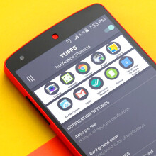 TUFFS Notification Shortcuts app makes launching a breeze, doesn't need root