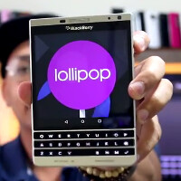 Video shows original BlackBerry Passport and Silver Edition model both running Android