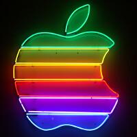 Apple's shares break 100 on nasty market open, bounce back sharply