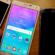 Galaxy Note5 vs 4 vs 3 vs 2 vs 1 drop test is one way to take out the S Pen