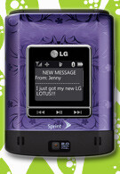 The LG Lotus 2 rolls out January, equipped with external touch screen?
