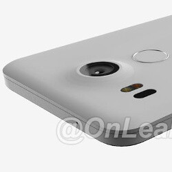 2015 LG Nexus 5 picture surfaces: large camera, fingerprint scanner