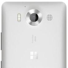 Microsoft Lumia 950 (or 940), aka Talkman, pictured in white