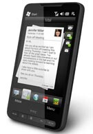 HTC HD2 is the first WM phone with HTC Sense interface