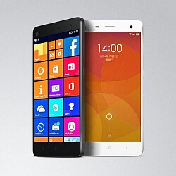Xiaomi Mi 4 running Windows 10 Mobile captured on camera with stable performance