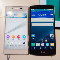 Sony Xperia Z5 vs LG G4: first look