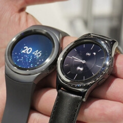 Samsung's Gear S2 smartwatches could work with iPhones, too (Samsung is