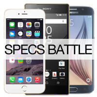 Apple iPhone 6s vs Samsung Galaxy S6 vs Sony Xperia Z5: specs comparison