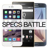 Apple iPhone 6s vs Samsung Galaxy S6 vs Sony Xperia Z5: specs comparison