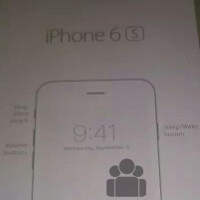 Leaked image confirms button positions for the Apple iPhone 6s