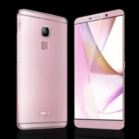 10,000 LeTV Max special edition handsets offered in pink and gold