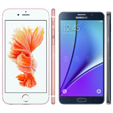 Plus-sized: Apple iPhone 6s Plus size comparison vs Note5, Z5 and others