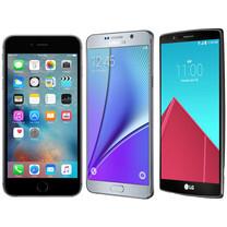 Specs comparison: iPhone 6s Plus vs Samsung Galaxy Note5 vs LG G4