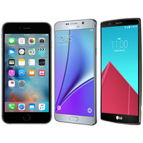 Specs comparison: iPhone 6s Plus vs Samsung Galaxy Note5 vs LG G4