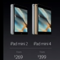 "The iPad mini 4 revealed... in ""astonishing"" 30 second announcement"