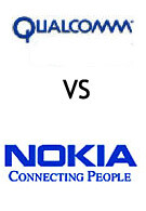 QUALCOMM files GSM patent infringement suit againts Nokia