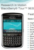 US Cellular anticipates to launch the BlackBerry Tour soon
