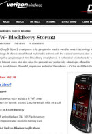 BlackBerry Storm2 to launch October 21st?