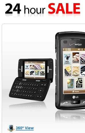 UPDATE 24 Hour Sale: Verizon's LG enV Touch and Gateway Netbook
