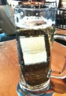Palm Pre takes a bath in a glass full of beer