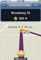 MapQuest now offers GPS navigation for the iPhone with various pricing