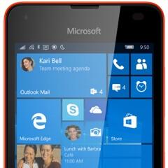 Microsoft Lumia 550 press renders leak out