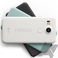 Nexus 5X press renders leak revealing three color options for the stock Android handset