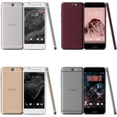 HTC One A9 (Aero) color options revealed in leaked images