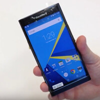 BlackBerry releases the first official photos of the BlackBerry Priv