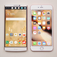 LG V10 vs Apple iPhone 6s Plus: first look