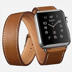 Apple Watch Hermès comes with hand-made leather bands, prices start at $1100
