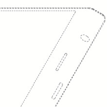 Samsung patents a trapezoid phone, with flexible display sloping over the bottom edge