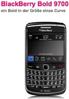 The RIM BlackBerry Bold 9700 rolls out November?