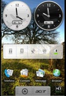 Pictures reveal the interface of the Acer Liquid