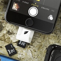 Leef iAccess provides small and functional expandable storage for your iOS device