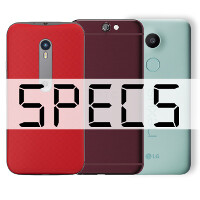HTC One A9 vs Motorola Moto G (2015) vs Google Nexus 5X: specs comparison