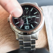 Fossil Q Founder is a new Android Wear smartwatch that works with iPhones and Android phones