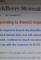 October 21st launch date for BlackBerry Storm2 9550 pulled on Verizon's intranet page