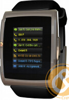 BlackBerry Bluetooth Watch accessory pictured