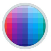 Pixolor app let's you zoom on individual screen pixels, grab their color code