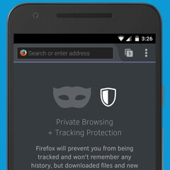 Mozilla Firefox now features Private Browsing with Tracking Protection, Android version downloadable today