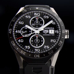 Expensive TAG Heuer Connected launched as the first Android Wear-based luxury smartwatch