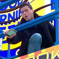 Motorola DROID Turbo 2 goes through a live drop test on Good Morning America