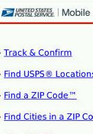 U.S. Postal Service introduces mobile web site