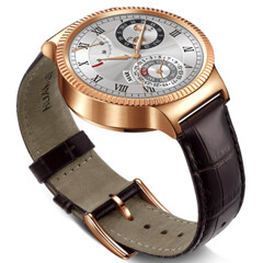 Rose Gold Huawei Watch (plated with real 22K gold) now available to buy in the US