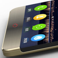 Renders of bezel-less ZTE Nubia Z11 surface; device features 5.2-inch QHD screen, SD-820, 4GB RAM